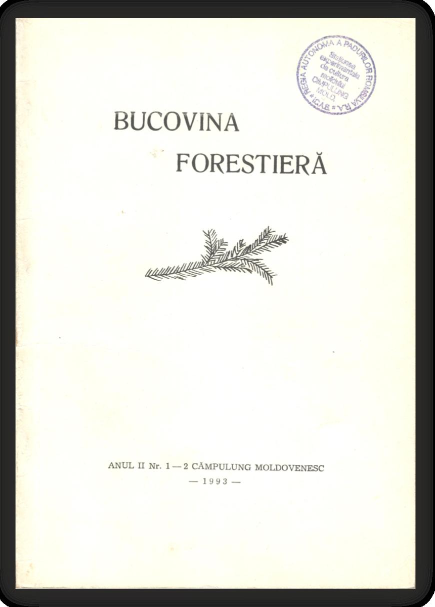Vizualizare Vol. 2 Nr. 1-2 (1993)